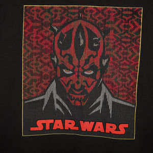 Star Wars Darth Maul Sith Lord Vintage Shirt